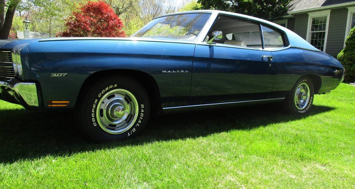 1970 Chevrolet Chevelle 56K Mile Two Door Time Capsule – $25,000
