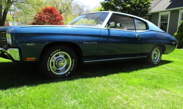 1970 Chevrolet Chevelle 56K Mile Two Door Time Capsule – $25,000
