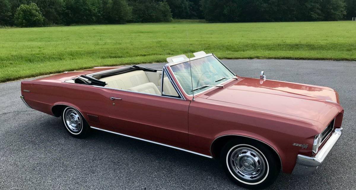 1964 Pontiac LeMans Convertible 56K Mile Survivor – $29,999