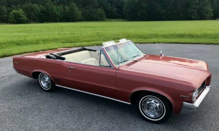 1964 Pontiac LeMans Convertible 56K Mile Survivor – $29,999