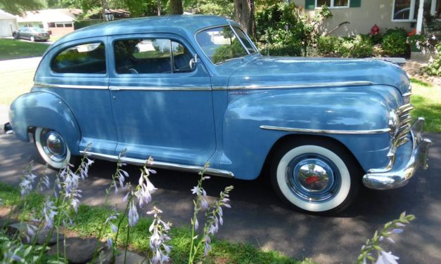 1946 Plymouth Special Deluxe 40K Original Miles – NOW $12,000