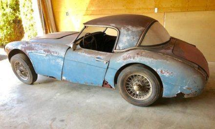 1958 Austin Healey 100-6 BN4 – Sold!