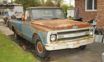 1970 Chevrolet C10 Pickup One Owner Project – SOLD!