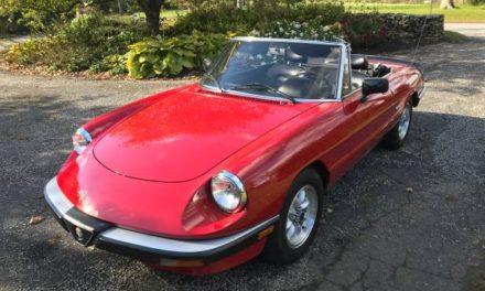 1987 Alfa Romeo Spider Graduate – Sold!