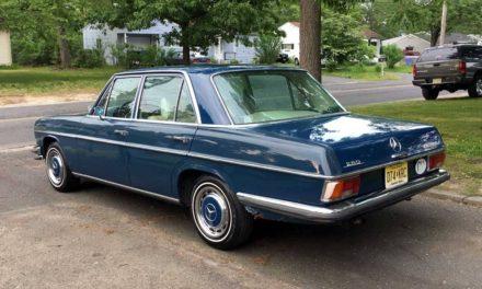 1973 Mercedes Benz W114 280 Sedan – $2,950