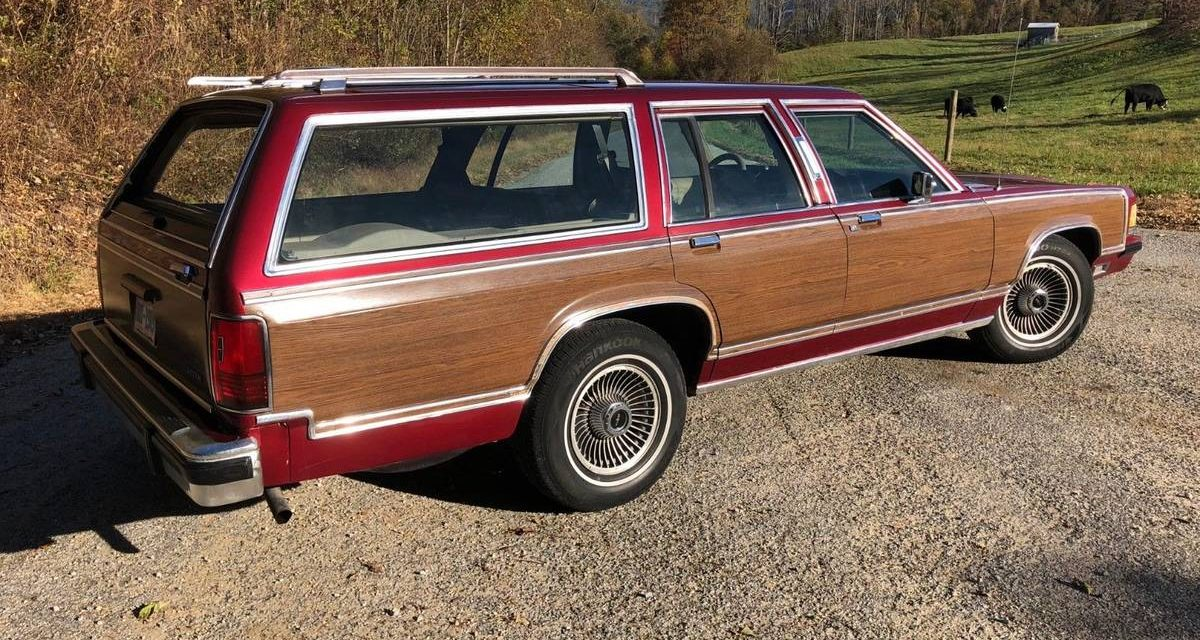 1990 Lincoln Grand Marquis Wagon – $5,495