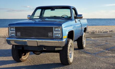 Barrett-Jackson Lot #46: 1986 Chevrolet K10 Pickup