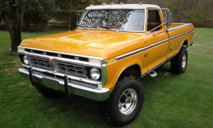 Barrett-Jackson Lot #76:  1976 Ford F-250 High Boy 4×4 Pickup