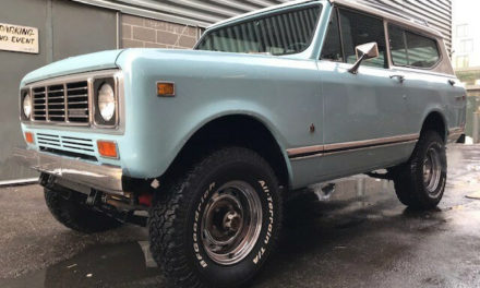 Barrett-Jackson Northeast Lot #75: 1976 IH Scout II