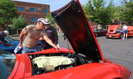 Guys With Their Rides 1:  Adam and His 1969 Monza Red Corvette Coupe