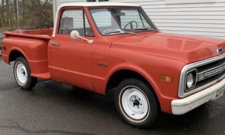 1970 Chevrolet C10 Stepside – $8,900