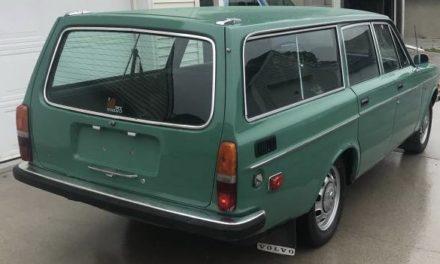 1972 Volvo 145S Four Speed Wagon – $3,200