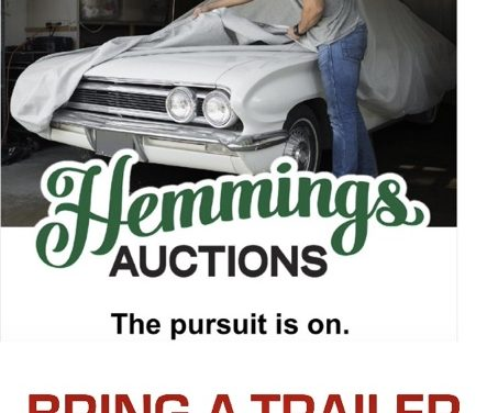 "Hemmings Auctions: Will ""Doing It Their Way"" Dent Bring A Trailer's Success?"