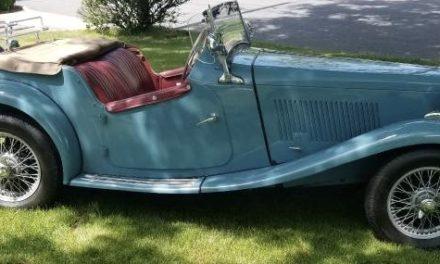 1951 MG TD Roadster – $22,000