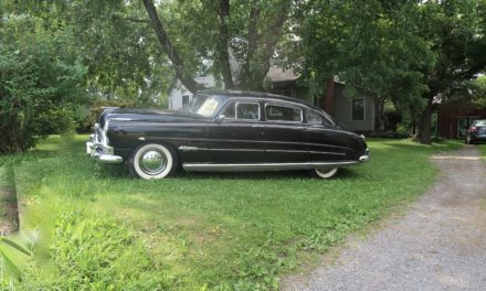 Side of the Road 3: 1951 Hudson Hornet Four Door Sedan – $14,500