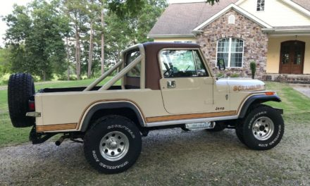 1983 Jeep CJ8 Scrambler SL Sport – $21,000 or R/O