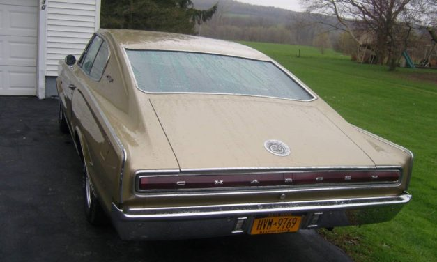 Two Years Gone: 1967 Dodge Charger 383/Automatic Survivor – SOLD!