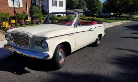 1960 Studebaker Lark Convertible – $12,000