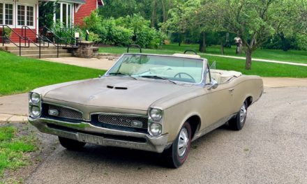 1967 Pontiac GTO Convertible 58K Mile Survivor – $32,500 Firm