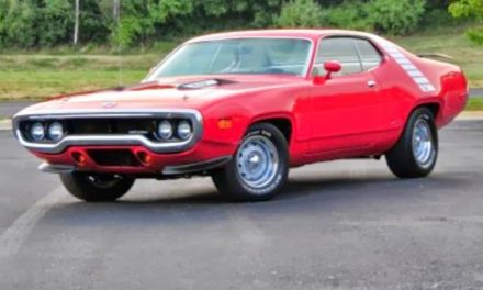 1972 Plymouth Road Runner 440 – $42,900