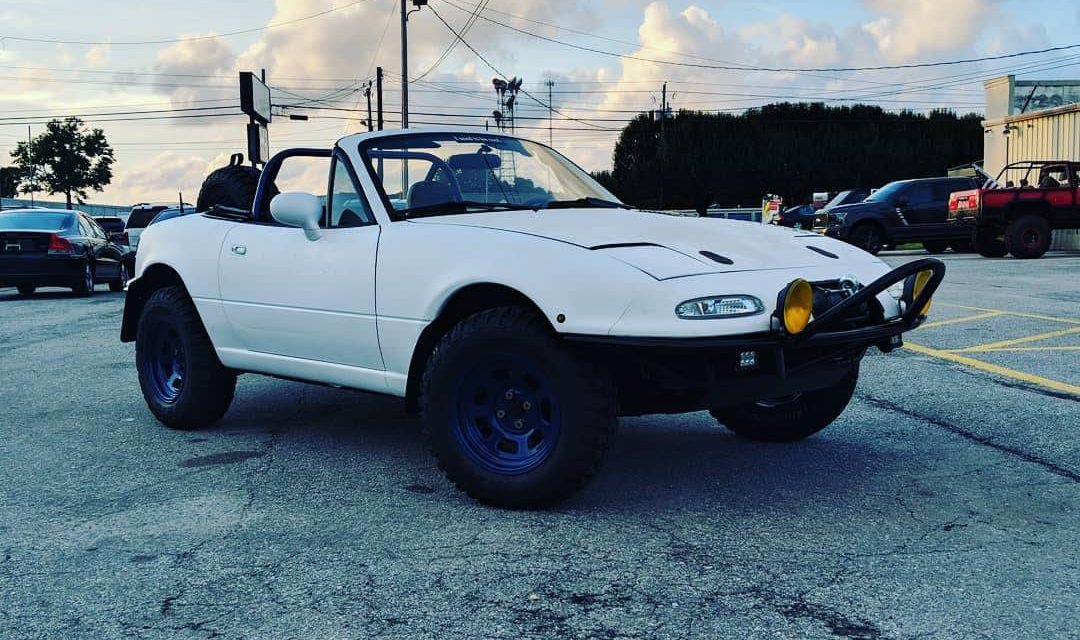1997 Mazda Miata NA Lifted Off-Road Rally Car – $4,300