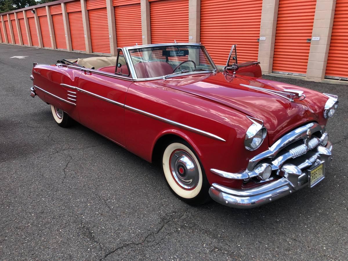 1954 Packard Convertible 14 5K Mile Time Capsule – $47,000