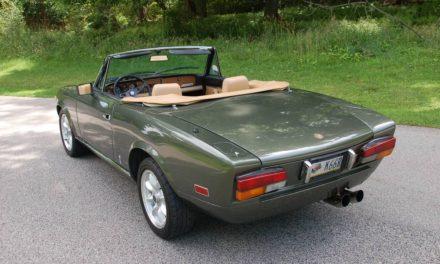 1980 Fiat Spider 2000 – SOLD!