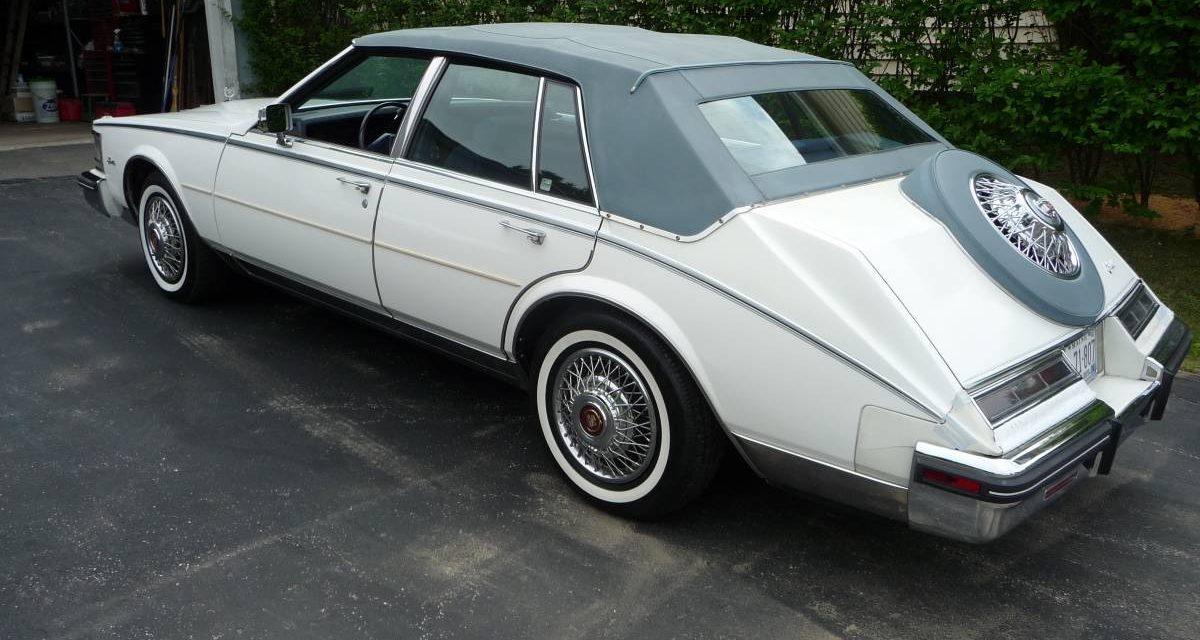 1984 Cadillac Seville 38K Mile Survivor – SOLD!