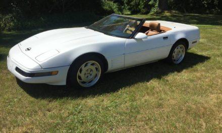 1991 C4 Corvette Convertible – $11,000