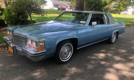 Nine Months Gone:  1982 Cadillac Coupe DeVille V6 26K Mile Original Owner – Sold!