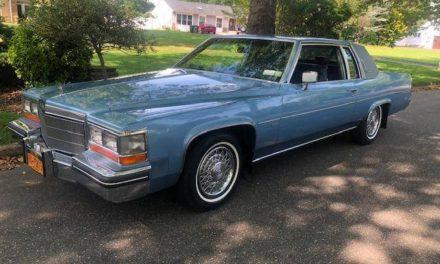 Nine Months Gone:  1982 Cadillac Coupe DeVille V6 26K Mile Original Owner – NOW $8,995