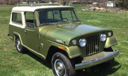 1971 Jeepster Commando Deluxe – $12,500
