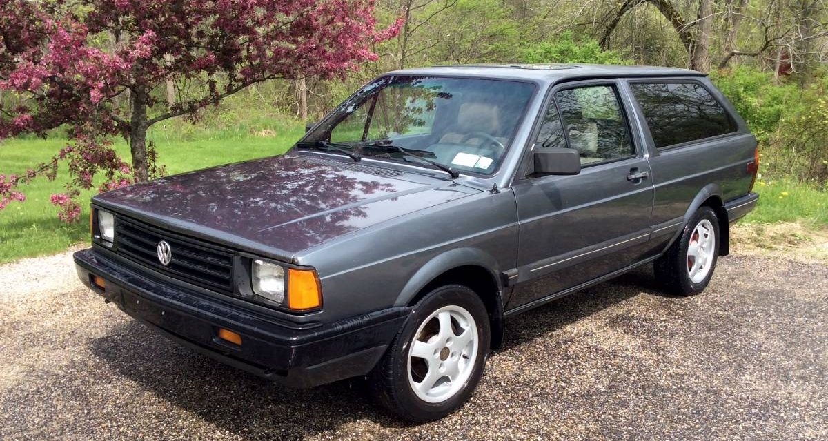 1988 Volkswagen Fox Two Door Wagon – SOLD!