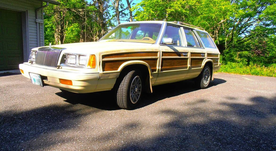 Goes Around:  1987 Chrysler LeBaron Town & Country Wagon – $4,500