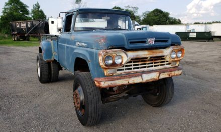 1960 Ford F350 Lifted Dually 7.3L Diesel Rat Rod 4X6 – Sold!