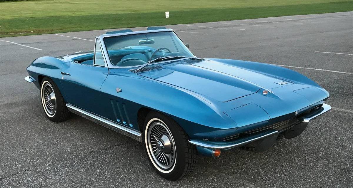 1966 C2 Corvette 327/350 4-Speed Convertible – $37,900
