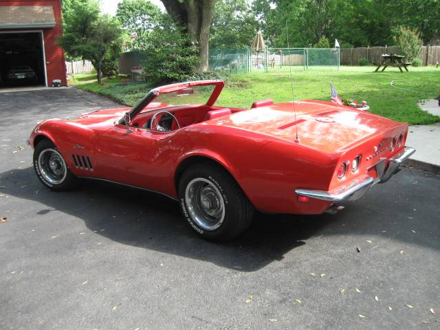 1969 C3 Corvette 427/4-Speed Convertible – $35,000