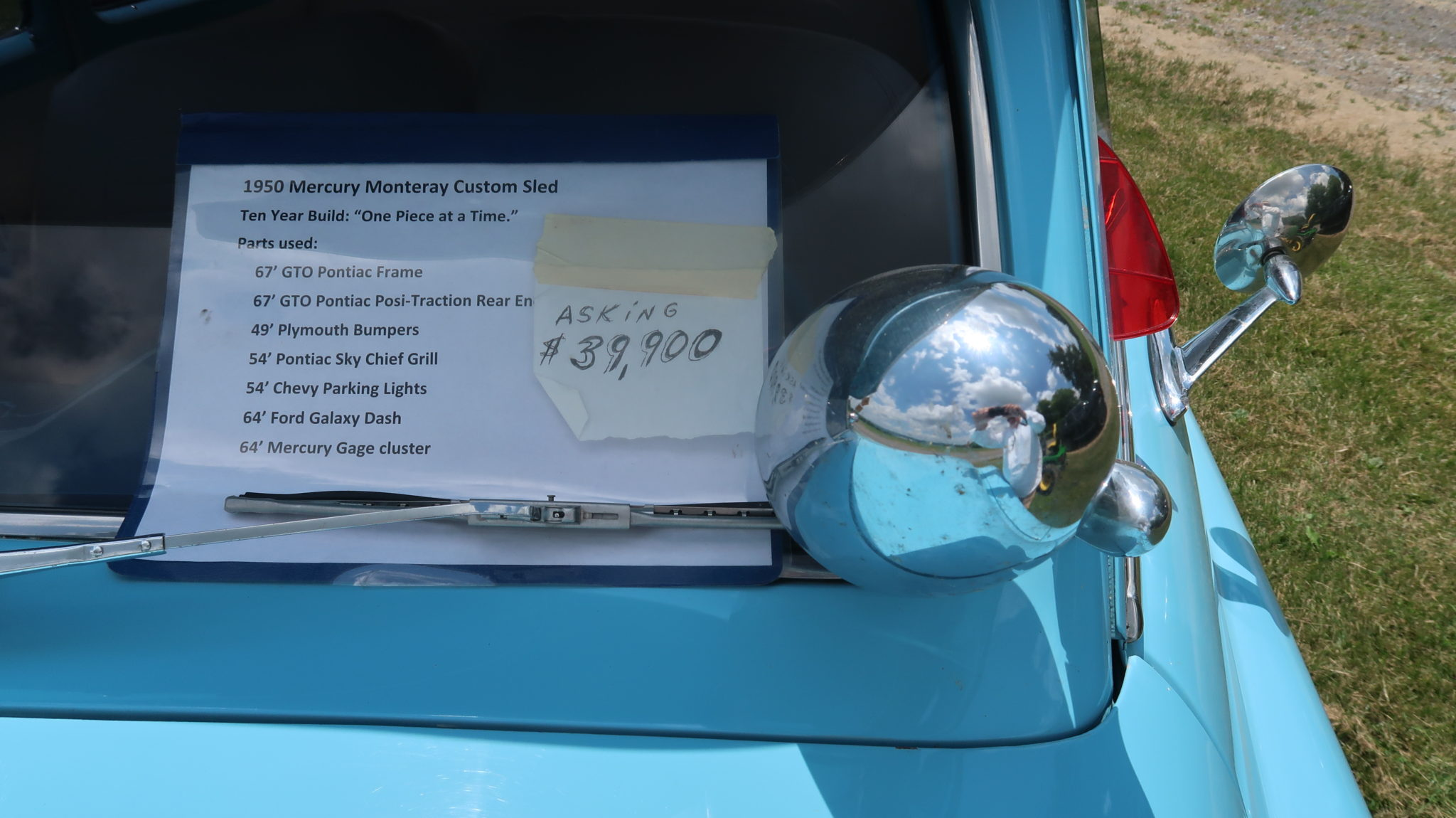Side of the Road 5: 1950 Mercury Monterey Hot Rod – $39,900