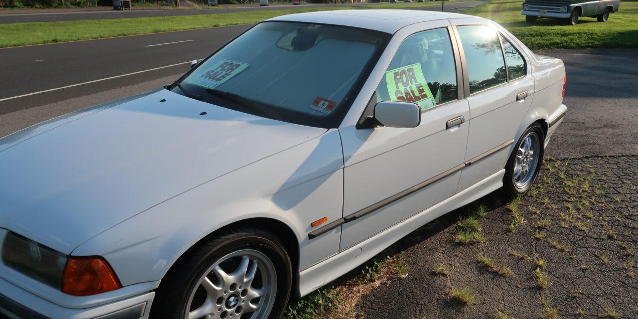 Side of the Road 7: 1998 BMW E36 328i 5-Speed Sedan – $3,995