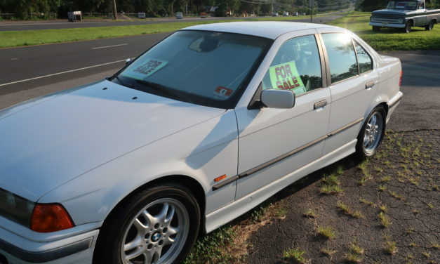 Side of the Road 7: 1998 BMW E36 328i 5-Speed Sedan – $3,995