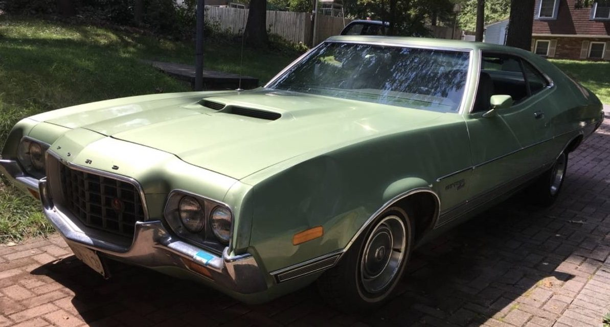 1972 Ford Grand Torino Sport – Original Owner – SOLD!