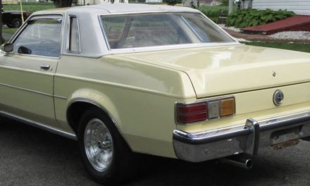 1977 Ford Granada Limited Edition Survivor – SOLD!