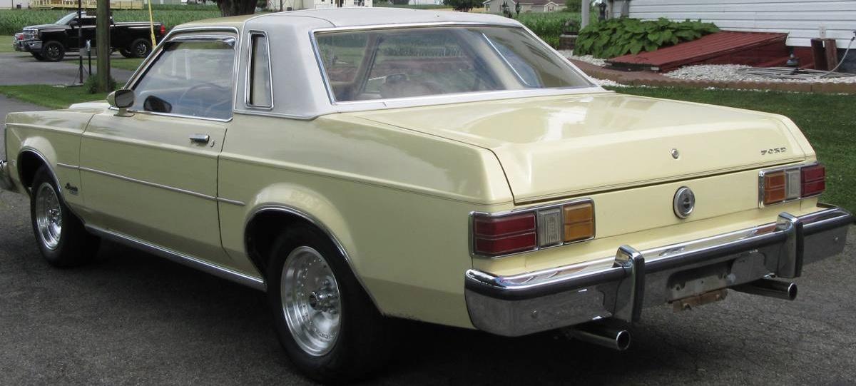 1977 Ford Granada Limited Edition Survivor – SOLD!
