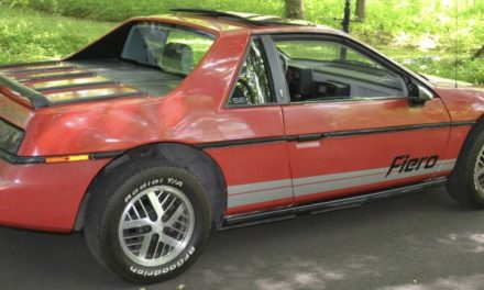 1984 Pontiac Fiero SE 2M4 – SOLD!