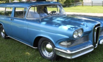 1958 Edsel Roundup Two Door Wagon – Lowered To $9,900