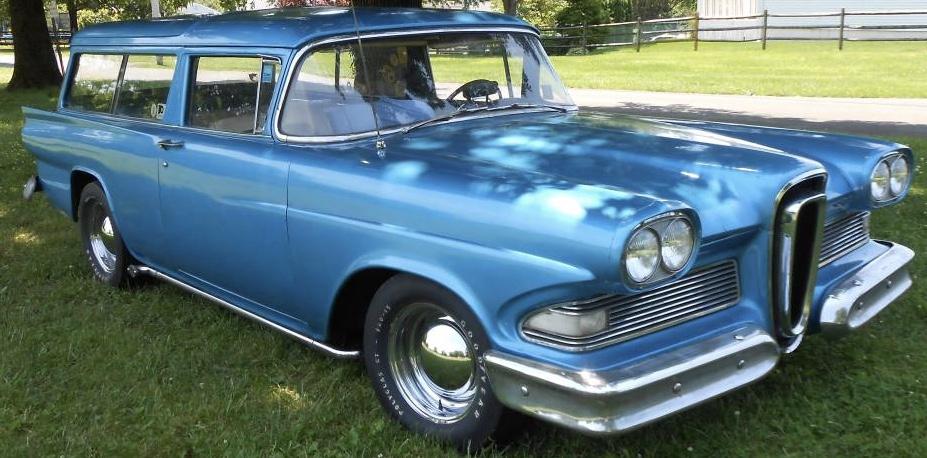 1958 Edsel Roundup Two Door Wagon – SOLD!
