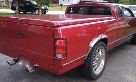 1995 Dodge Dakota Chopped Top Hot Rod Pickup – $10,500