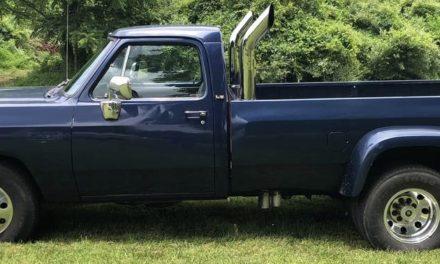 1993 Dodge Ram D250 Cummins Diesel Race Truck – $12,600