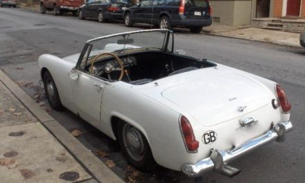1965 Austin Healey Sprite Mkiii – Sold!