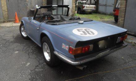 1973 Triumph TR-6 Two Owner Survivor – Sold!
